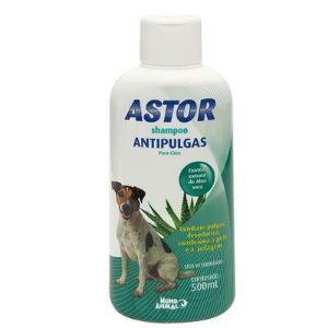 SHAMPOO ASTOR ANTIPULGAS  500 ML