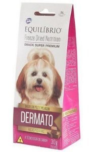 PETISCO EQUILIBRIO FREEZE DRIED SNACK DERMATO 30G