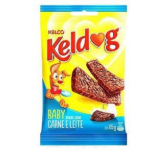 BIFINHO KELDOG BABY CARNE E LEITE 65 GRAMAS