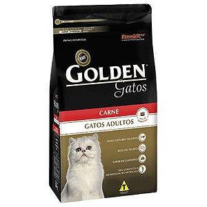 RAÇÃO GOLDEN  CARNE GATOS ADULTOS 1 KG