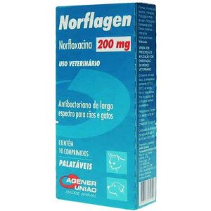 NORFLAGEN 200 MG C/ 10 COMPRIMIDOS