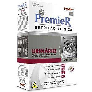 RAÇÃO PREMIER NUTRIÇÃO CLÍNICA GATOS URINÁRIO 1,5KG