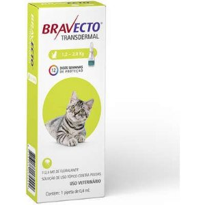 BRAVECTO TRANSDERMAL GATOS 1.2 - 2.8 KG