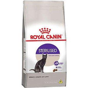 RAÇÃO ROYAL CANIN STERILISED - GATOS CASTRADOS 7,5KG