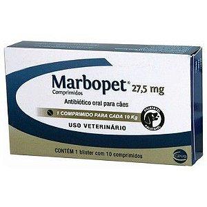 MARBOPET 27,5 MG C/ 10 COMPRIMIDOS