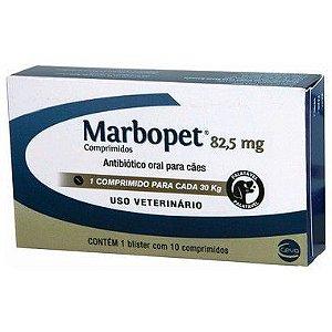 MARBOPET 82,5 MG C/ 10 COMPRIMIDOS