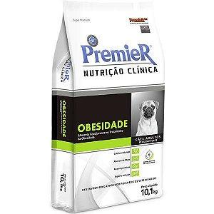 RAÇÃO PREMIER NUTRIÇÃO CLÍNICA OBESIDADE CÃES RAÇAS PEQUENAS 10,1KG