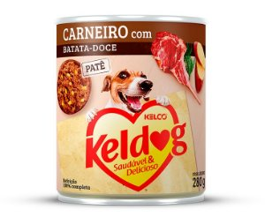 PATÊ KELDOG CARNEIRO COM BATATA DOCE 280G