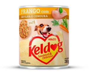 PATÊ KELDOG FRANGO COM ERVILHA E CENOURA 280G