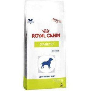 RAÇÃO ROYAL CANIN VETERINARY DIABETIC CÃES 1,5KG