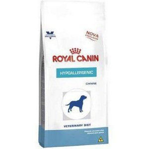 RAÇÃO ROYAL CANIN VETERINARY HYPOALLERGENIC SMALL DOG CÃES 2KG