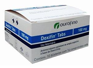 DOXIFIN TABS 100 MG - 1 CARTELA COM 14 COMPRIMIDOS