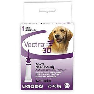 VECTRA 3D CÃES 25 A 40 KG - 1 PIPETA