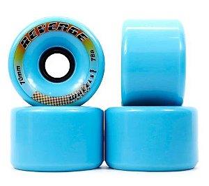 Roda Revenge azul 70mm - 78A