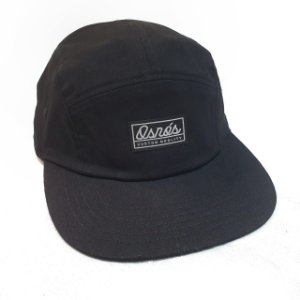 BONÉ FIVE PANEL - BLACK