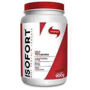 Isofort Whey protein isolado 900g neutro