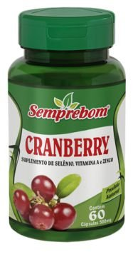 Cranberry 500mg 60 cápsulas