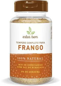 TEMPERO COMPLETO PARA FRANGO COM SAL DO HIMALAIA 190G