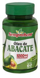 ÓLEO DE ABACATE 1000MG -60 CAPS