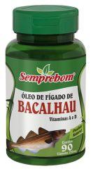 ÓLEO DE FIGADO DE BACALHAU -250MG 90 CAPS