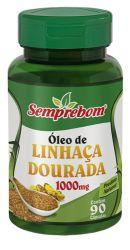 ÓLEO DE LINHAÇA DOURADA 1000MG- 90 CAPS