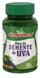 ÓLEO DE SEMENTE DE UVA 100MG 90 CÁPS