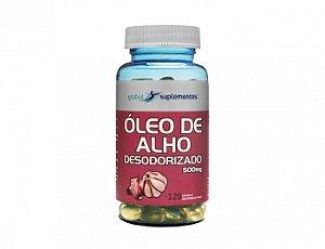 ÓLEO DE ALHO 500MG 120 CÁPS DESODORIZADO