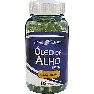 ÓLEO DE ALHO 250MG 120CÁPS