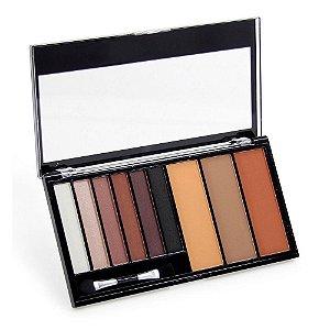 Paleta de Sombra e Pó Contorno Luisance Lovely Colors L6015 Cor B