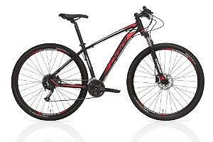 Bicicleta Aro 29 OGGI Big Wheel 7.0 2019 27V Preto/Vermelho