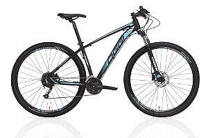 Bicicleta Aro 29 OGGI Big Wheel 7.0 2019 27V Preto/Azul