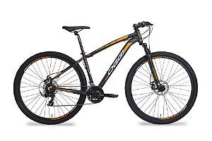Bicicleta Aro 29 OGGI Hacker Sport  21V Preto/Laranja