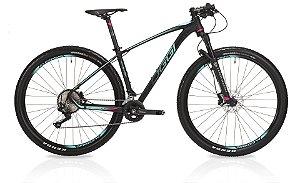 Bicicleta Aro 29 OGGI Big Wheel 7.3 2019 20V Azul/Rosa