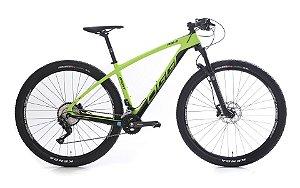 Bicicleta Aro 29 OGGI Agile Sport 2019 20V Carbon Verde
