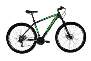 Bicicleta Aro 29 South Legend 2019 21V Preto/verde fosco