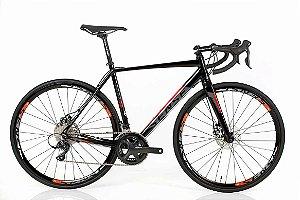 Bicicleta Aro 700 Sense Criterium 2018 18V Preto/Vermelho