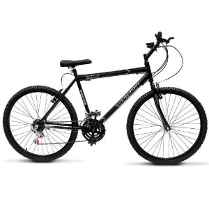 Bicicleta Aro 26 Ultra Technology 18V Preto Fosco