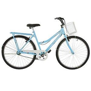 Bicicleta Aro 26 Ultra Vintage Line Azul/Branco
