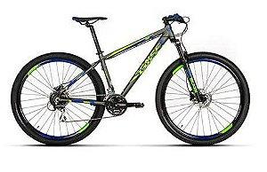 Bicicleta Aro 29 Sense Fun 2019 24V Verde/Azul