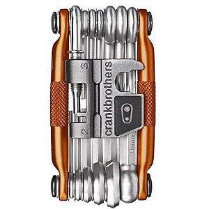 Canivete Crank Brothers M19 - 19 Funções c/ Case