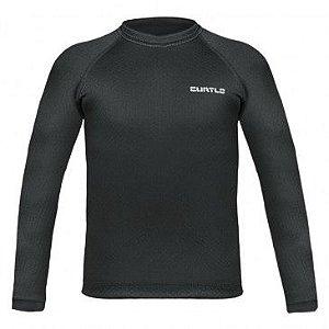 Camisa Segunda Pele Curtlo Thermo Skin Masculina Preto