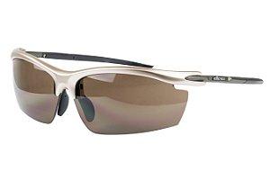 Óculos Ciclista Elleven Blade Prata 2 Lentes