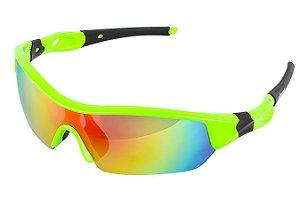 Óculos Ciclista Elleven Spider Verde 2 Lentes