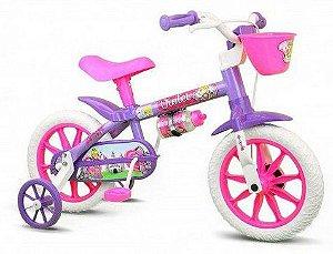 Bicicleta Aro 12 Nathor Violeta