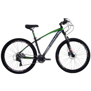 Bicicleta Aro 29 South New R06 2019 24V Preto/Verde