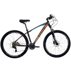Bicicleta Aro 29 South New R06 2019 24V Laranja/Azul