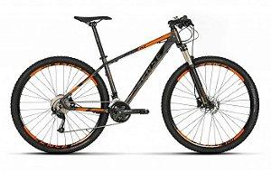 Bicicleta Aro 29 Sense Rock Evo 2019 27V Cinza/Laranja