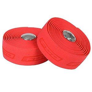 Fita de Guidão FSA Ultra Cork Vermelho