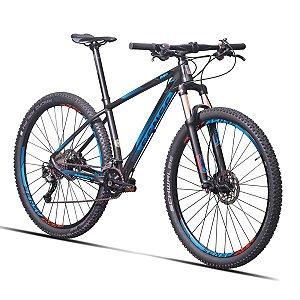 Bicicleta Aro 29 Sense Impact Pro 2019 18V Cinza/Azul