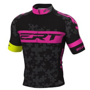 Camisa ERT Elite Team Preto/Rosa